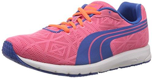 Puma Narita V2 Jr - zapatillas deportivas de material sintético infantil rosa - Pink (fluo pink-strong blue 11)
