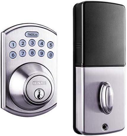 Tacklife Keypad Electronic Deadbolt Door Lock, ...