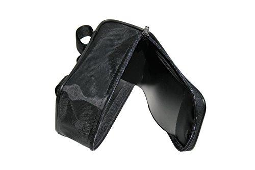 Bag Fahrradlenker . Lenkertasche. Polyester. Farbe Schwarz. MADE IN ITALY (CTUR_144)