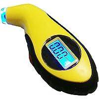 LCD Digital Tire Tyre Air Pressure Gauge Tester Tool w/light