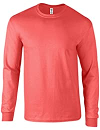 "<span class=""a-offscreen"">[Sponsored]</span>Men's Long Sleeve T Shirt Premium Ringspun Cotton Made in USA"