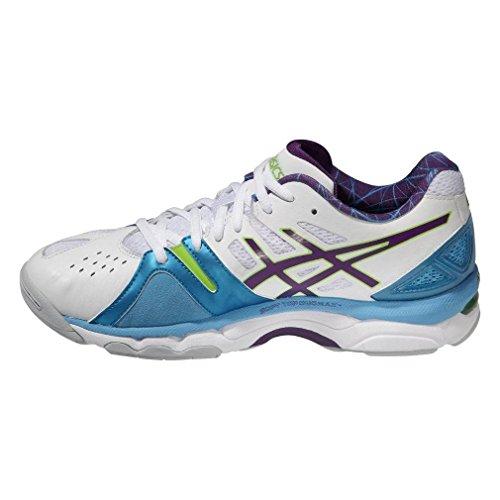 Asics Gel Netburner Super 5 Womens Nettball Schuh White