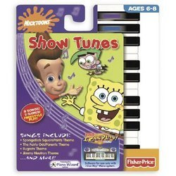 I Can Play Piano Software - Nicktoons Show Tunes