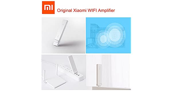 Antena SUNNY-MERCADO Xiaomi WIFI Amplificador Mi router Wi-Fi de la red del repetidor Wireless Router Wifi Expander Roteador Señal Amplifie: Amazon.es: ...