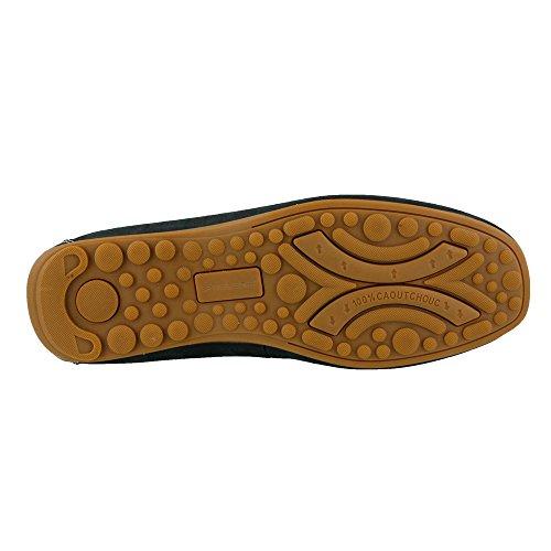 Lente Stap Mens Orazio Moc Teen Casual Slip Op Loafers Marine