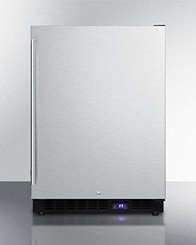 Summit SPFF51OSCSS Outdoor Undercounter Freezer, Stainless Steel