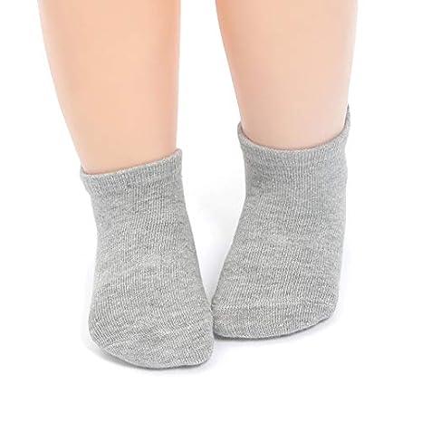 Ni/ñas Pack de 12 Pares 0-1 A/ños Z-Chen Calcetines Antideslizantes para Beb/é Ni/ños