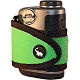 2016 Monument Golfer Stick It Magnetic Rangefinder Strap Classic Series Classic Green