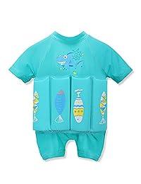Toddlers Boy Girls Buoyancy swimsuit removable Float Suit Bathing Suit