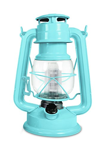 Northpoint 190614 Vintage Style Horizon Haze Hurricane 12 LED's and 150 Lumen Light Output and Dimmer Switch, Battery Operated Hanging Lantern for Indoors and Outdoor Usage, Piece