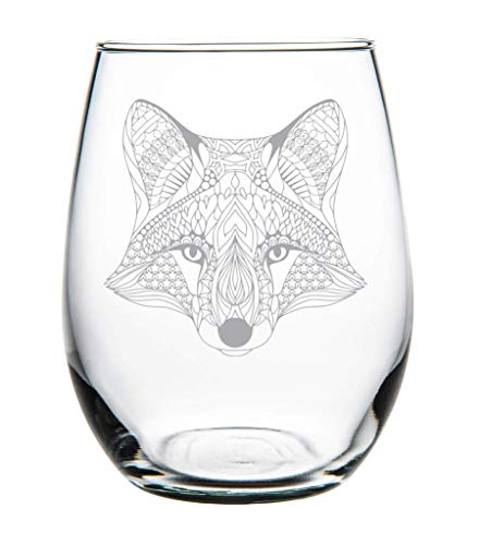 Fox 15 oz. stemless wine glass (Fox Glass)