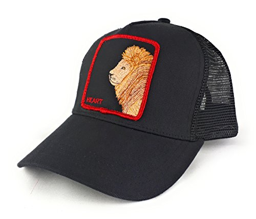 Ministry of Hats Gorra de Trucker Negro Lion