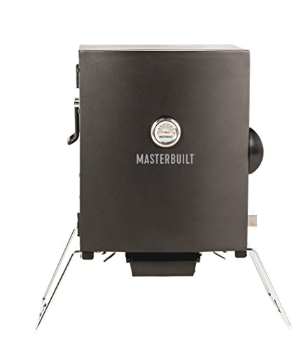 Masterbuilt MB20073716 Patio-2-Portable Electric Smoker, Black