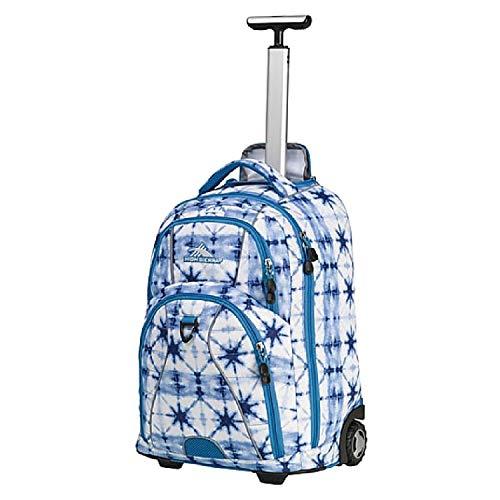 High Sierra Freewheel Wheeled Laptop Backpack, Blue