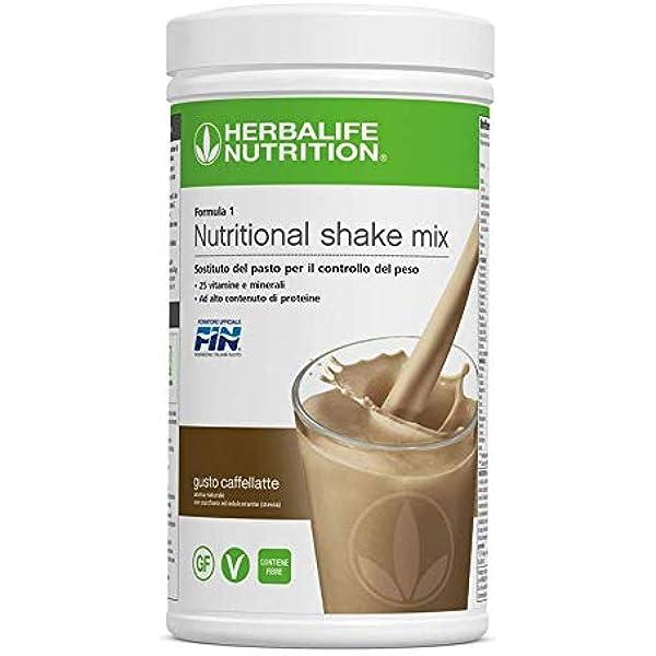 Herbalife 2 Batidos Formula 1 Cafe latte (2 x 550g): Amazon.es: Industria, empresas y ciencia