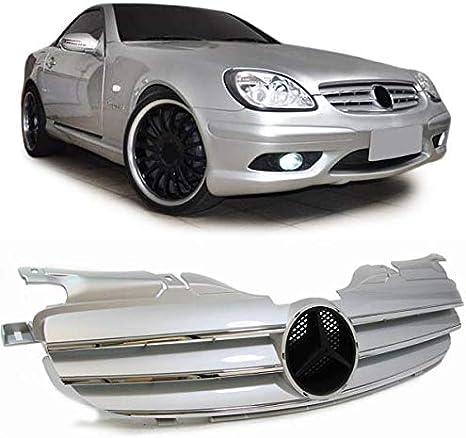 Carparts Online 13817 Sport Grille Cl Look Silver Auto
