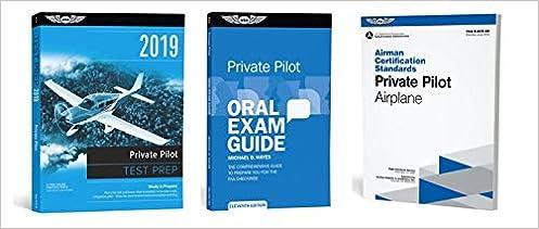 ASA 2019 Private Pilot Test Prep Package: ASA: Amazon com: Books