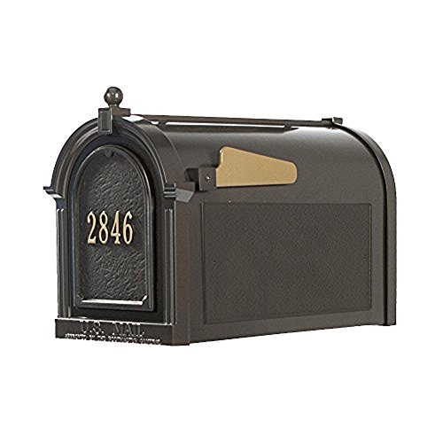 Whitehall Products16511 Superior Mailbox Package,French Bronze Door plaque by Whitehall (Image #1)