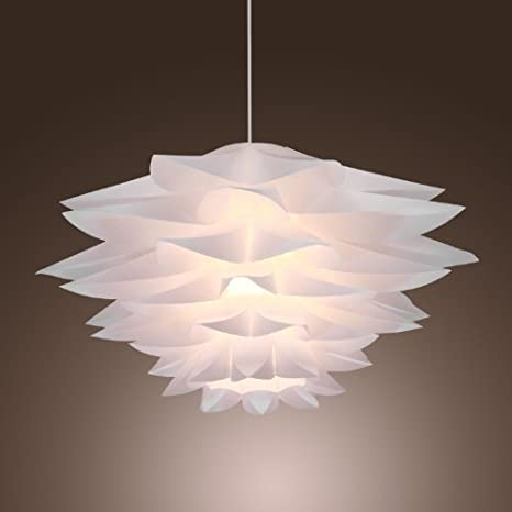 LightInTheBox 60W Floral Pendant Light in Petal Featured Shade ...