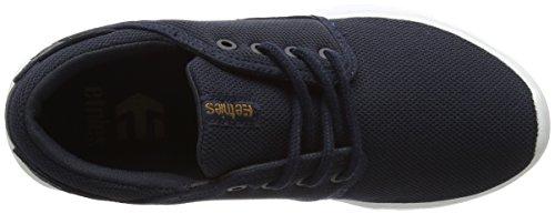 Etnies Kids Scout, Zapatillas de Skateboard Infantil Azul (Dark Navy)