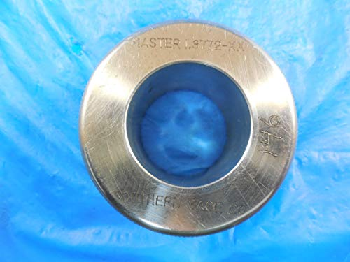 Master Bore Ring - 1.3772 Dia Class XX Smooth Plain BORE Ring GAGE Master 1.3750 Undersize 1 3/8