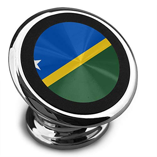 Flag of The Solomon Islands Universal Gray Smartphone Car Mount Holder Cradle for Smartphones and Mini Tablets