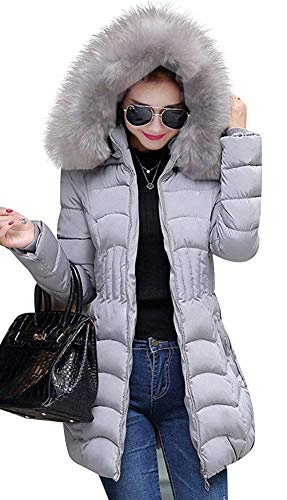 Rela Bota Women's Winter Warm Thickened Coats Long Down Parka Puffer Jacket Outwear X-Large ()