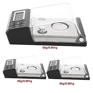 ZHANGYUGE Báscula de Cocina de Alta precisión Novela Mini Carat contando Pocket Joyería básculas Pesa Balanza de Cocina,20G-0.001G: Amazon.es: Hogar