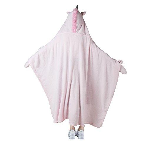 Children's Hooded Animal Blankets For Kids (Unicorn Blanket) by Babycat (Image #4)
