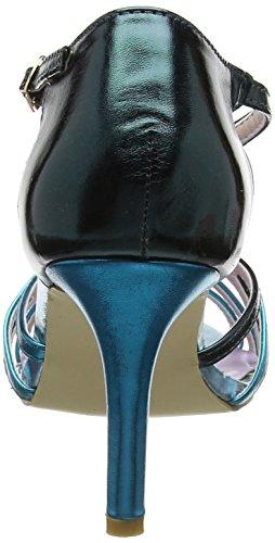 Femme Multi Salomés Browns Strappy Sandals Metallic Joe Bleu Blue Valentino A zYRqq7