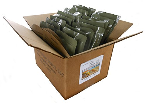 MRE Beef Entrees Combo - 18 pack ()