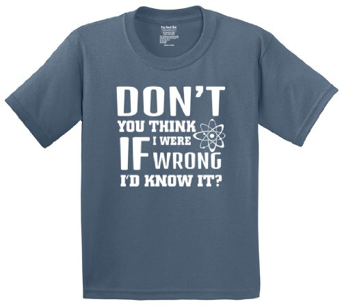 Big Bang Theory-Don't You Think If I Were Wrong I'd Know It? T-Shirt