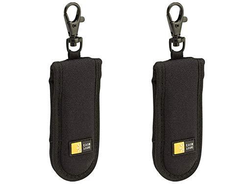 Capacity Usb Drive Shuttle - Case Logic JDS-2 USB Drive Shuttle 2-Capacity Black (2 Pack)