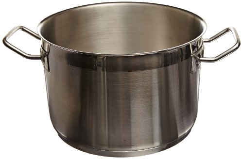 Carlisle 601175 Versata Select Stainless Steel 18-10 Stock Pot, 6 quart Capacity, 9.45
