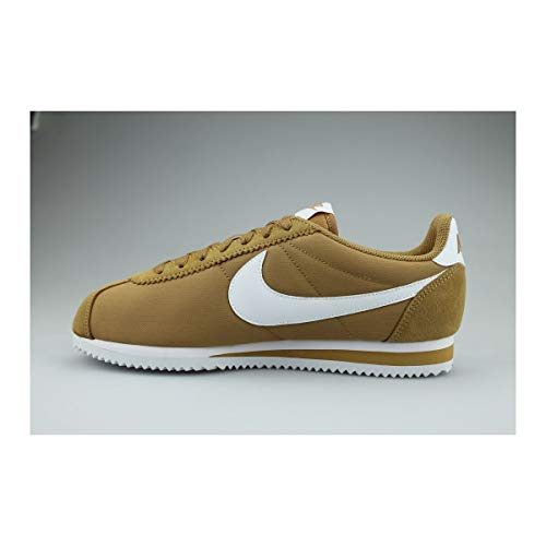 NIKE - BUTY Classic Cortez Nylon, Sneaker Alte Uomo Multicolore (Muted Bronze/White 001)
