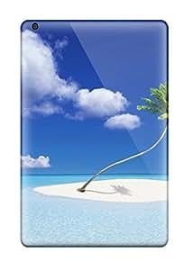 Anti-scratch And Shatterproof Island Holiday Phone Case For Ipad Mini/mini 2/ High Quality Tpu Case