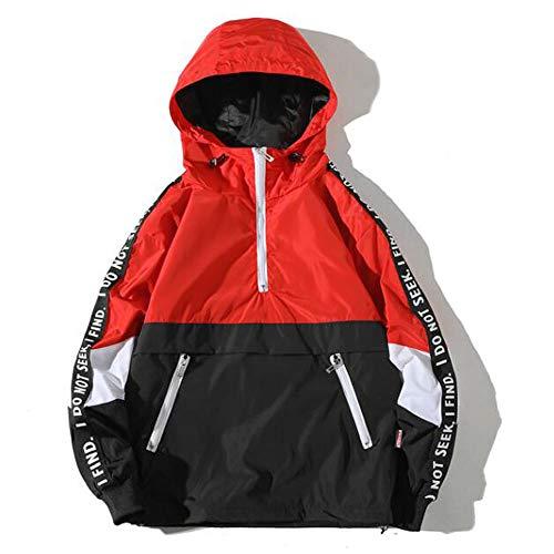 Sunhusing Men Winter Style Hooded Pocket Assault Jacket Coat Loose Large Size Jacket Clothing