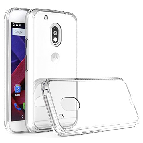 Tektide Case Compatible for Moto G Play 4th Gen, [Invisible Armor] Xtreme Slim Clear Soft Lightweight TPU Rubber Case, Bumper, Back Cover Case for Moto G4 Play (Best Moto G4 Cases)