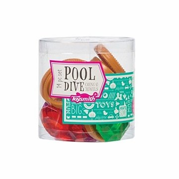 Toysmith 20060 POOL DIVE COIN & JEWELS (12)