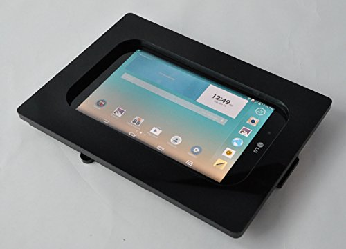 Custom Design 8'' Tablet Security Anti-Theft Kit for Kiosk, POS, Store, Show Display (Black VESA) by POS IN CLOUD