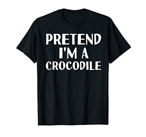 Diy Crocodile Costume (PRETEND I'M A CROCODILE Funny Halloween DIY Costume)
