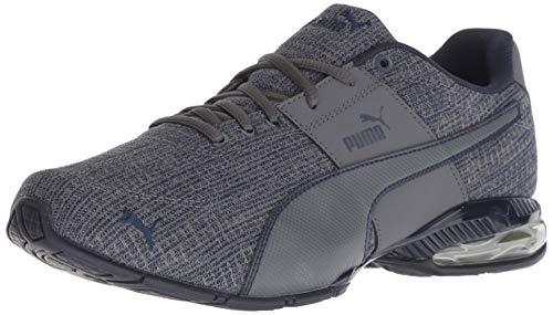 PUMA Men's Cell Surin 2 FM Sneaker, Iron gate-Peacoat, 9 M US