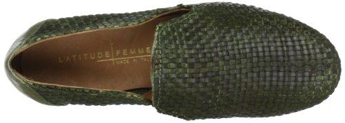 mujer Verde Latitude de FORMA 50100c femme Grün Salvia para cuero 50 Mocasines qqCz8xTRw