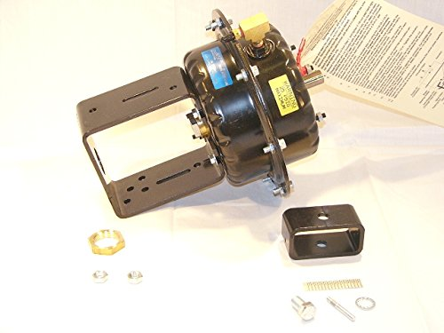 Valve Actuator Housing Kits (Johnson Controls MP823E001E MP8000 Series Pneumatic Valve Actuator with Mounting Kit, Spring Return Up, 25 Square Inch Effective Area, 3/4