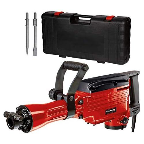 chollos oferta descuentos barato Einhell 4139087 TC DH 43 Martillo demoledor cabezal SDS fuerza de percusión 43 J 1500 rpm 1600 W 230 V rojo