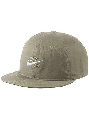 Nike SB Pro Vintage Snapback Hat (NEUTRAL OLIVE/PINE GREEN/NEUTRAL OLIVE)