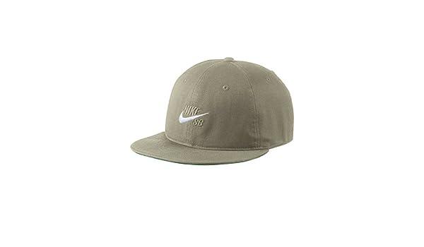 3a48fa104eb6 Amazon.com  Nike SB Pro Vintage Snapback Hat (NEUTRAL OLIVE PINE GREEN NEUTRAL  OLIVE)  Sports   Outdoors