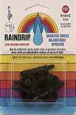 Raindrip Adjustable Sprayer 1/4