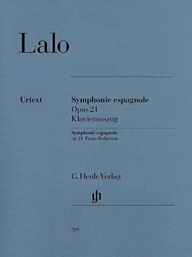 Lalo: Symphonie Espagnole, Op. 21 (English and German Edition)