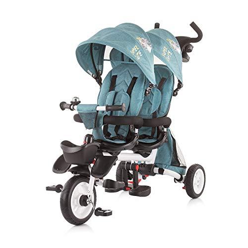 Triciclo Chipolino Gemelar 2 Fun Ocean